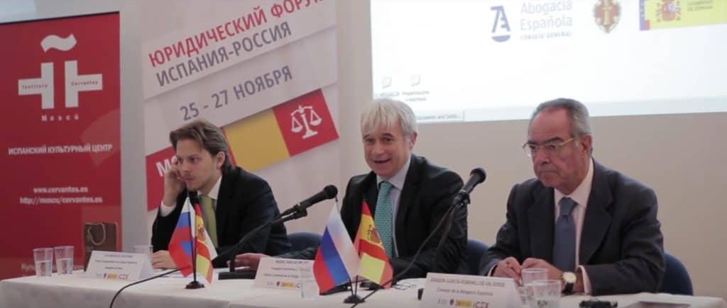 Jornadas Técnicas de Abogacía en Rusia